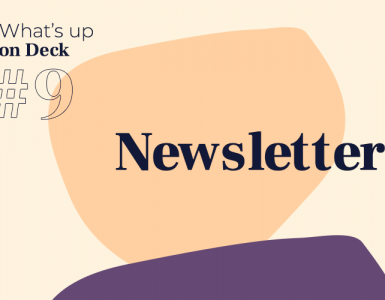 What's up on Deck #9 newsletter-firmowy