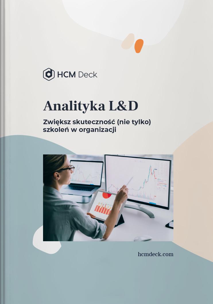 Analityka L&D Zwiększ skuteczność nie tylko szkoleń w organczacji ebook cover photo