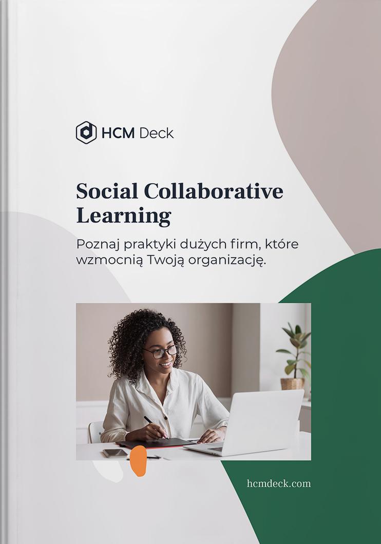 Social Collaborative Learning ebook HCM Deck okładka