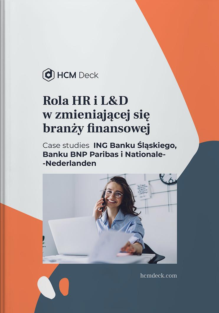 rola hr i ld w zmieniającej się branży finansowej ebook hcm deck okładka