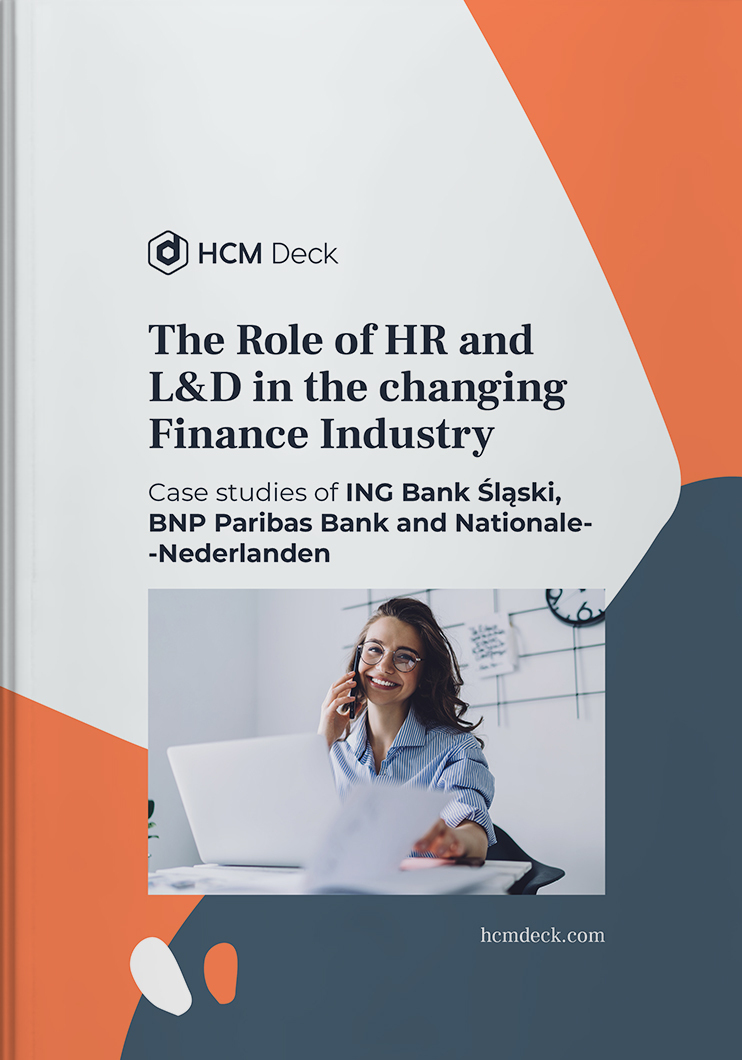 the role of hr and lf in the changing finance industry hcm deck ebook cover